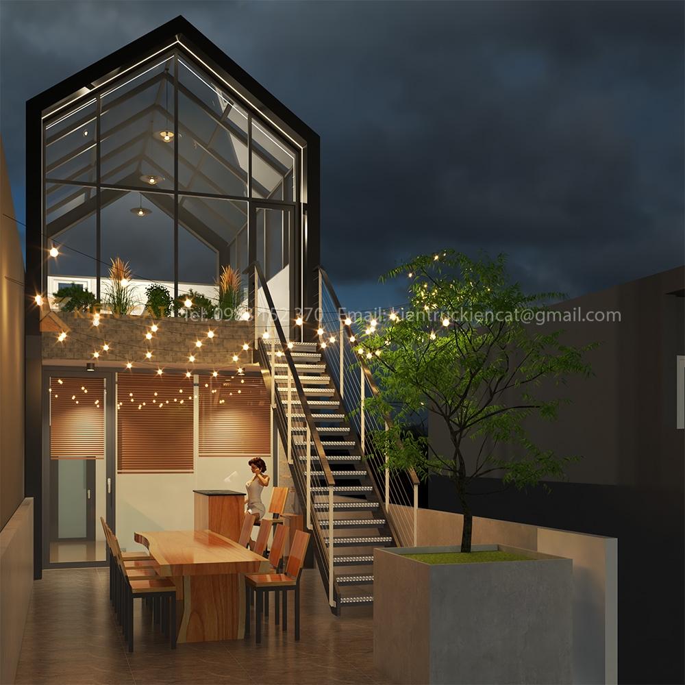 thiết kế cải tạo coffee shop