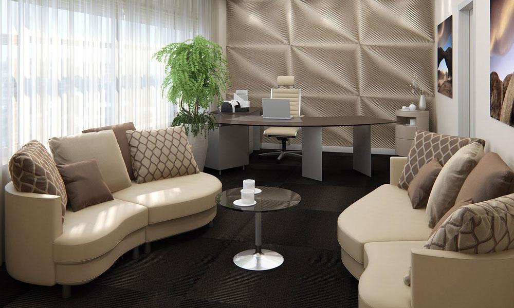 Thiết kế nội thất văn phòng làm việc giám đốc sang trọng hiện đại